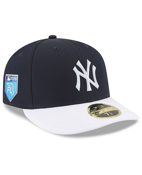 132a4a7970a ... New Era New York Yankees Spring Training Pro Light Low Profile 59Fifty  Fitted Cap ...