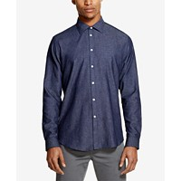 DKNY Men's Indigo Twill Shirt Deals