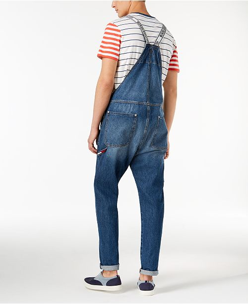 aa7e0f8ef11c Tommy Hilfiger Men s Denim Overalls   Reviews - Jeans - Men - Macy s