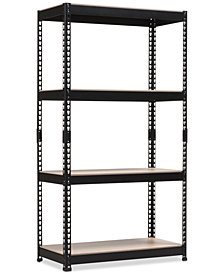 Cody 4-Shelf Multipurpose Rack, Quick Ship