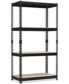 Cody 4-Shelf Multipurpose Rack, Quick Ship