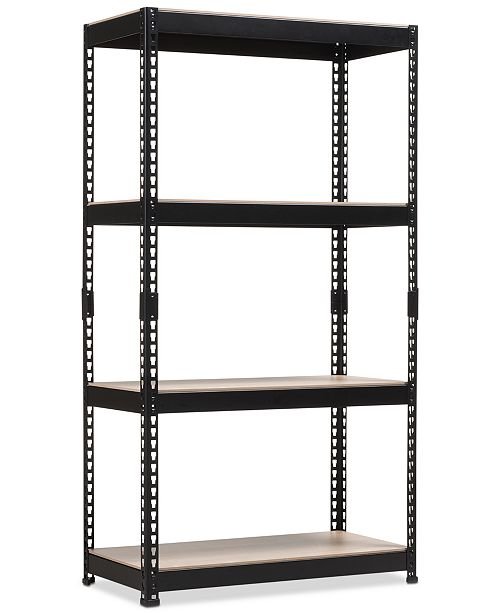 Furniture Cody 4-Shelf Multipurpose Rack