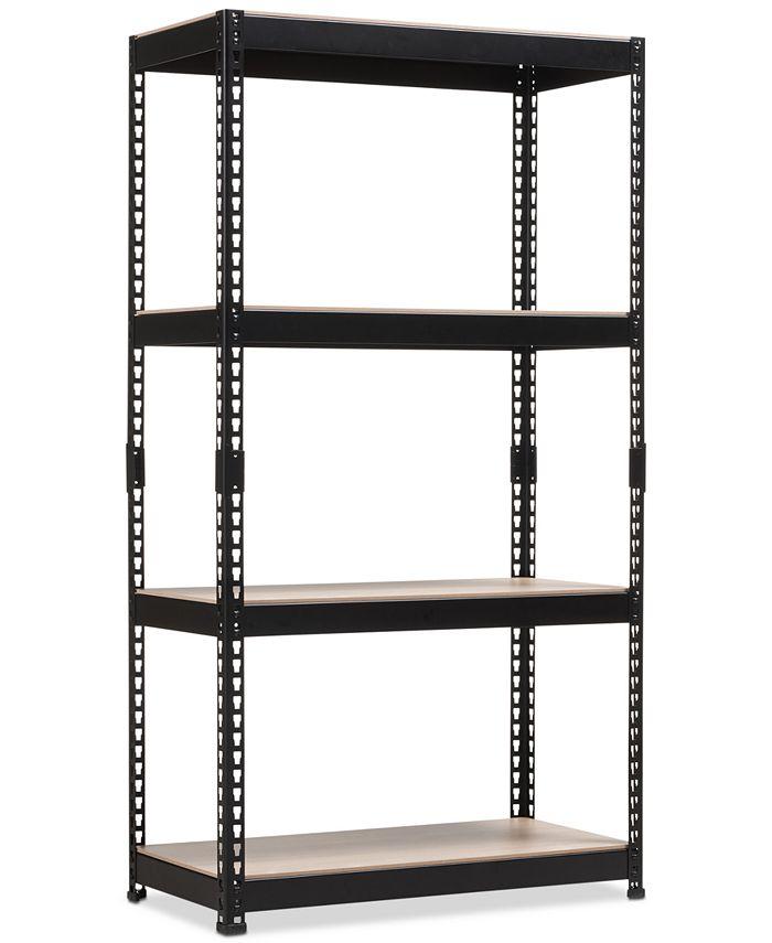 Furniture - Cody 4-Shelf Multipurpose Rack, Quick Ship