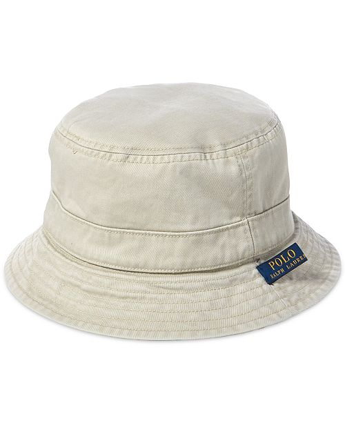 695939ab6c33c Polo Ralph Lauren Men s Reversible Bucket Hat   Reviews - Hats ...