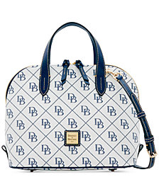 Dooney & Bourke Signature Zip Zip Medium Satchel, Created for Macy's
