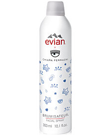 evian Limited Edition Chiara Ferragni Facial Spray, 10.1-oz.