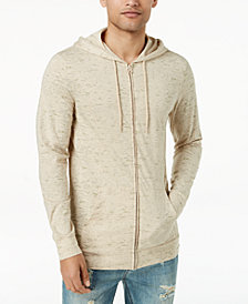 American Rag Men's Nep Full-Zip Lightweight Hoodie, Created for Macy's