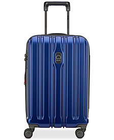 "Delsey ConnecTech 21"" Spinner Expandable Carry-On Suitcase"