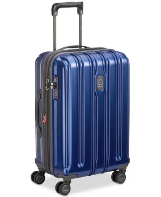 """ConnecTech 21"""" Spinner Expandable Carry-On Suitcase, Created for Macy's"""