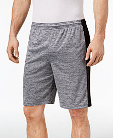 "ID Ideology Men's Side Stripe 10"" Knit Shorts, Created for Macy's"