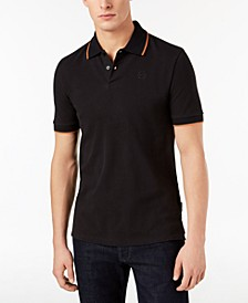Men's Contrast Tipped Polo