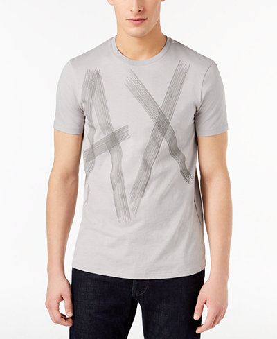 Armani Exchange Men's Slim-Fit Logo T-Shirt