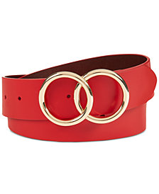 I.N.C. Double Circle Belt, Created for Macy's