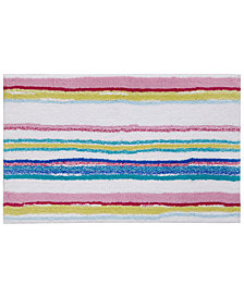 "bluebellgray Kech Stripe 21"" x 34"" Bath Rug"