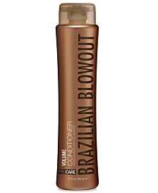 Brazilian Blowout Volume Conditioner, 12-oz., from PUREBEAUTY Salon & Spa