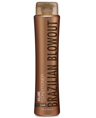 Brazilian Blowout Volume Conditioner, 12-oz., from PUREBEAUTY Salon & Spa