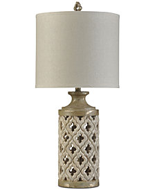 Stylecraft Green Field Table Lamp