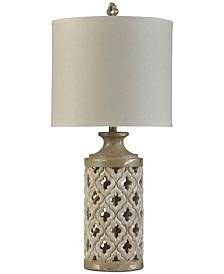 Stylecraft Green Field Table Lamp