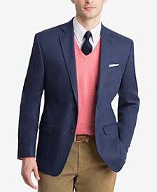 Men's Classic-Fit Ultra-Flex Solid Linen Sport Coat