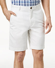 "Brooks Brothers Red Fleece Men's Stretch Garment-Dyed 9"" Twill Shorts"