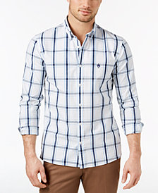 Brooks Brother Red Fleece Men's Plaid Slim-Fit Shirt