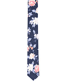 Original Penguin Men's Costa Floral Skinny Tie