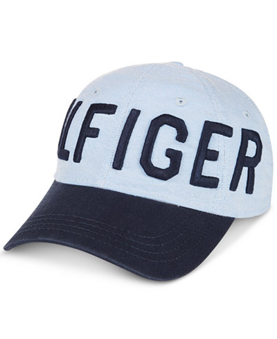 Tommy Hilfiger Men's Bigman Embroidered-Logo Shop Cap, Created for Macy's