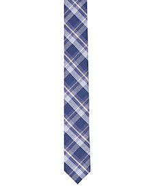 Original Penguin Men's Percy Plaid Skinny Tie