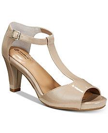 Giani Bernini Claraa Memory Foam Dress Sandals, Created for Macy's