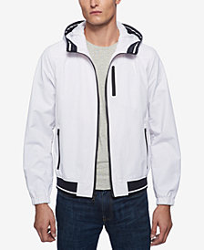 Tommy Hilfiger Men's Boat House Hooded Bomber Jacket