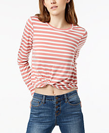 Self Esteem Juniors' Twist-Front T-Shirt