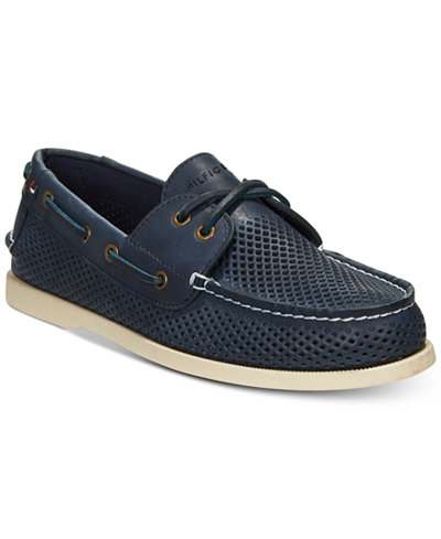 Tommy hilfiger mens perforated bowman boat shoes all mens shoes tommy hilfiger mens perforated bowman boat shoes publicscrutiny Images