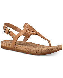 UGG® Women's Ayden Footbed Flat Sandals