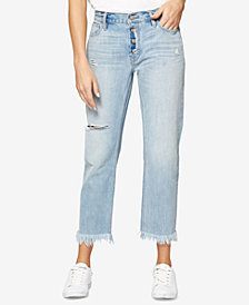 Sanctuary Ripped Boyfriend Jeans