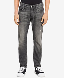 Calvin Klein Jeans Men's Straight-Fit Stretch Jeans