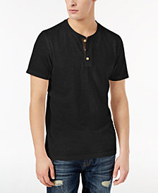 American Rag Men's Camo Henley, Created for Macy's