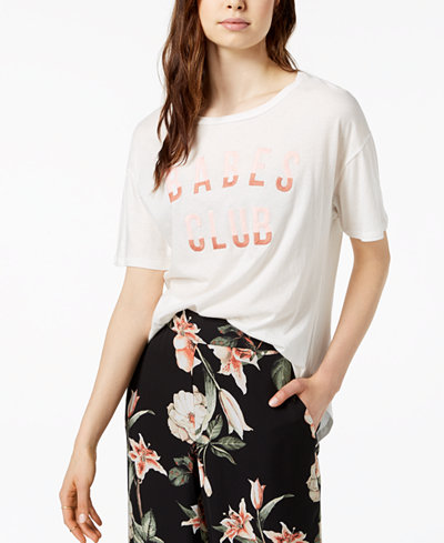 Carbon Copy Embroidered Graphic-Print T-Shirt