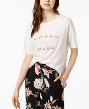 Carbon Copy Embroidered Graphic-Print T-Shirt 5892799