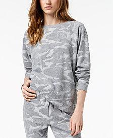Jessica Simpson Juniors' Embossed Terry Tunic Sweatshirt
