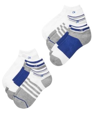 Calvin Klein 6Pk NoShow Socks Little Boys  Big Boys
