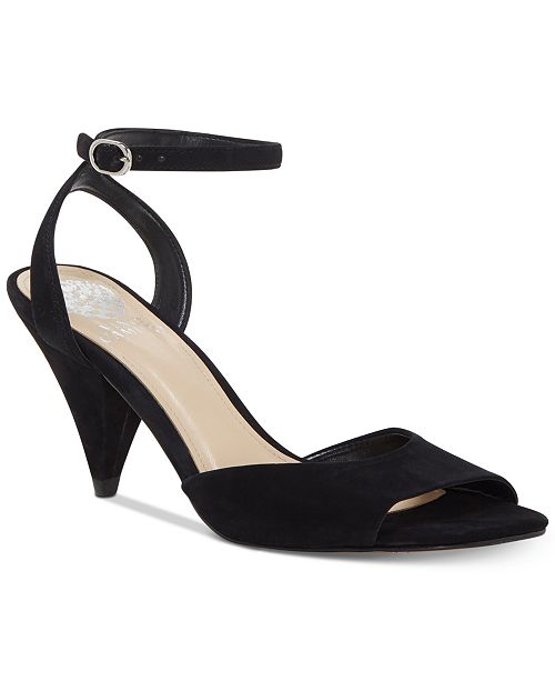 Vince Camuto Benatta Cone-Heel Dress Sandals, Created for Macy's Women's Shoes