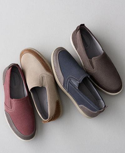 Clarks Men's Gossler Race Slip-On Sneakers, Created for Macy's