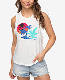 Roxy Juniors' Yum Yum Graphic Tank Top