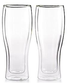 Zwilling Sorrento Double Wall Beer Glasses, Set of 2
