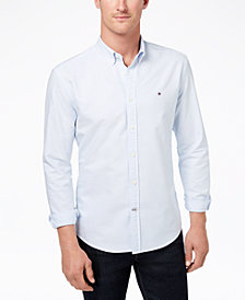 Tommy Hilfiger Men's New England Stripe Shirt, Created for Macy's