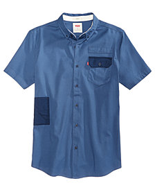 Levi's® Men's Slim-Fit Camo-Trim Shirt