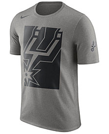 Nike Men's San Antonio Spurs Cropped Logo T-Shirt