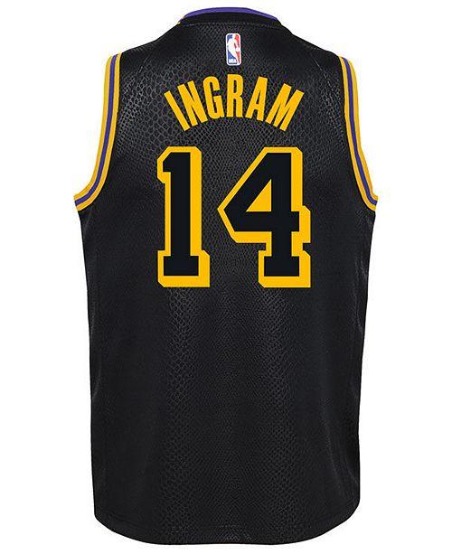Nike Brandon Ingram Los Angeles Lakers City Edition Swingman ...