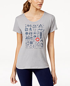 Columbia Camp Stamp Active-Fit Top