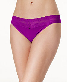 Natori Bliss Perfection Lace-Waist Thong 750092